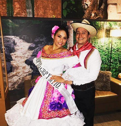 el traje tipico de la region andina