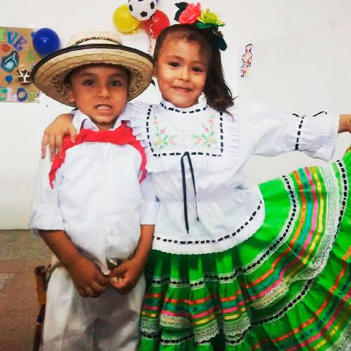 traje tipico dela region andina