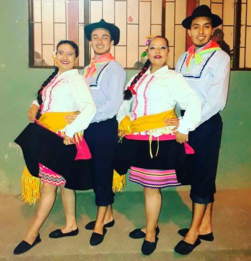 los trajes tipicos de la region andina