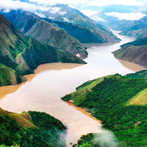 hidrografia dela region andina